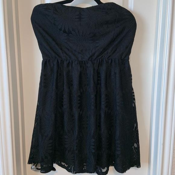 Deb Dresses & Skirts - Deb Short Strapless Lace Dress